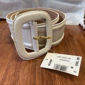Michael Kors Python Belt